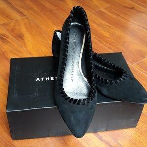 Athena Alexander suede flats